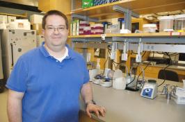 UNH researcher Matt MacManes