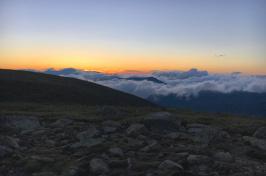 Sunrise on Mount Guyot in New Hampshire's Twin Range