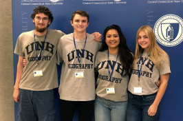 photo of UNH geography students