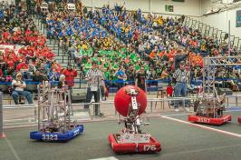 Robotics competition at UNH