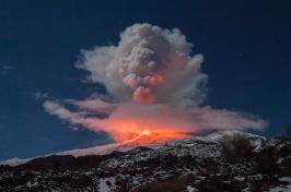 Mount Etna eruption