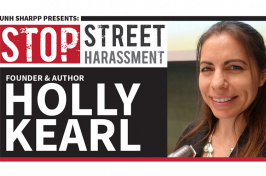 UNH SHARPP Stop Street Harassment Founder and Author Holly Kearl graphic