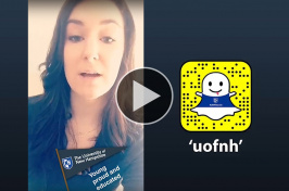 Sydney Phelps takes over UNH's Snapchat account