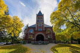 UNH's Thompson Hall
