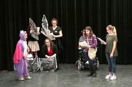 students acting