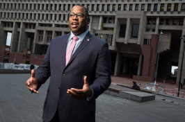 Boston city councilor and UNH alumnus Tito Jackson '99