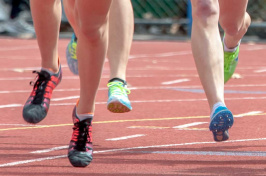 Runner's on UNH's track