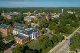 aerial view of UNH campus
