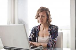 Image of women on laptop
