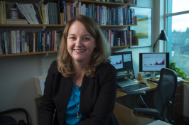 Associate professor of economics Reagan Baughma