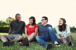 Image of a group of teens.