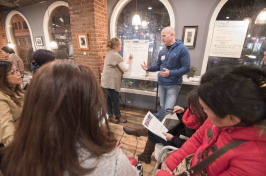 Image of group discussion facilitated by NH Listens