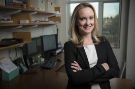 Assistant professor of marketing Danielle Brick