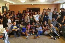 Black Student Union meeting
