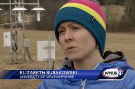 UNH climate scientist Elizabeth Burakowski on WMUR