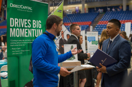 UNH career and internship fair fall 2017