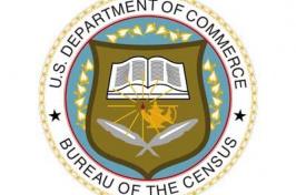 image of census logo; image credit: NHPR