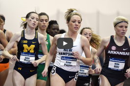 UNH track and field standout Elinor Purrier racing in NCAA mile competition