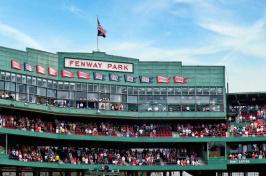 Fenway Park in Boston, Massachsetts