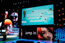 Twitter is added to XBox Live online community at Microsoft's XBox 360 media briefing to open the Electronic Entertainment Expo (E3) on June 1, 2009 in Los Angeles, California.