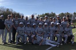 UNH club baseball team
