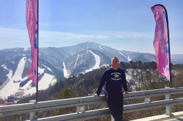 Ben Towne in South Korea