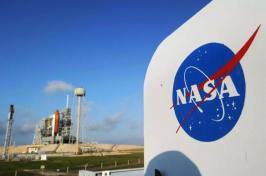 NASA logo (Photo: STAN HONDA/AFP/GETTY IMAGES/FILE 2011)
