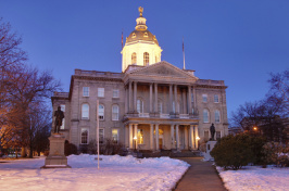 image of the NH State House (box photo)