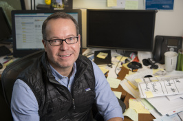 Assistant professor of marketing Matt O'Hern