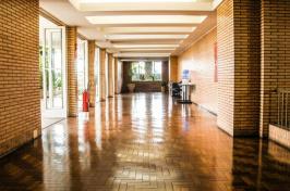 image of school hallway, pexels.com photo