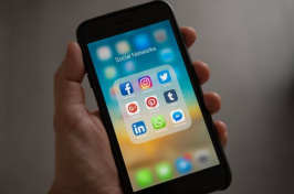image of social networks on cellphone, pexels.com image