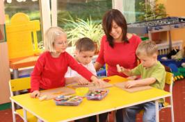Image of preschool classroom