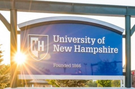 Image of UNH Manchester campus sign.