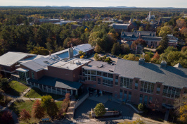 A view of UNH's MUB