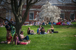 A view of the UNH campus