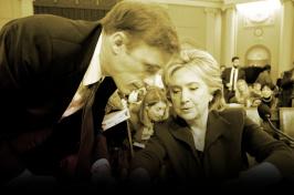 Image of Jake Sullivan and Hilary Clinton
