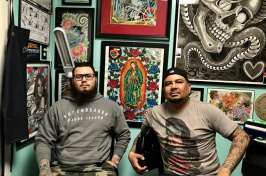 NHPR: From the Golden State to the Granite State: Why These Tattoo Artists Made N.H. Home