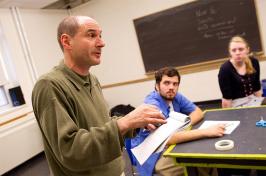 David Kaye teaching