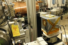 Energetic Heavy Ion Sensor (EHIS); space weather instrument designed, built and calibrated the University of New Hampshire for the GOES-R weather satellite.
