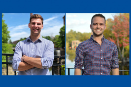 Image of our two students running for state representative positions.
