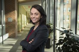 Billur Akdeniz Talay poses in Paul College