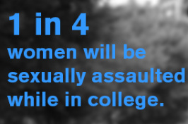 A graphic listing sexual assault statistics
