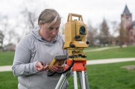 photo of Meghan Howey in field