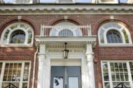 Huddleston Hall entrance