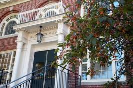 Huddleston Hall facade
