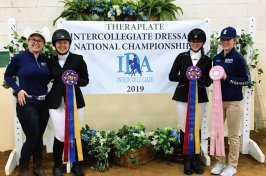 UNH 2019 Intercollegiate Dressage Team
