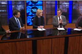 Image of panel discussion on WGBH