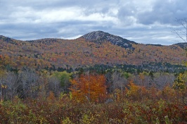 New Hampshire mountains in the fall
