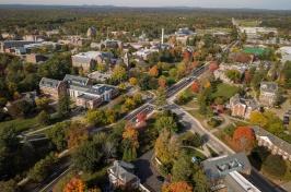 Ariel view of campus