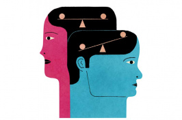 Autism research illustration